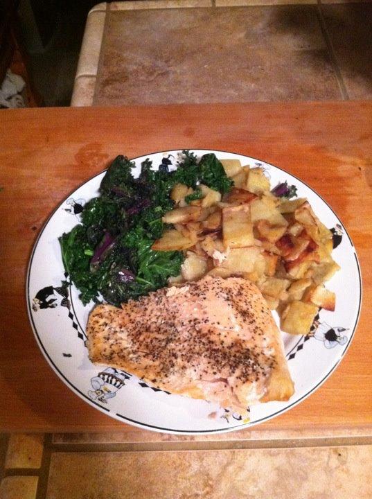 Tyler's dinner